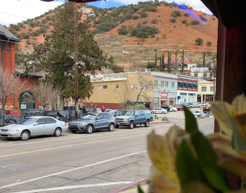 View from Bisbee's Table in Bisbee, Arizona