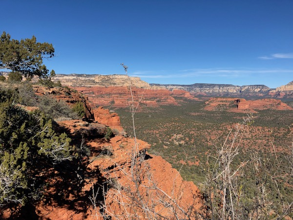Meditation on Doe Mountain Trail in Sedona, Arizona