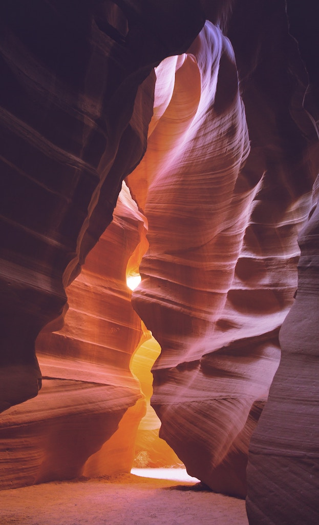 upper antelope canyon time shamanic beauty light