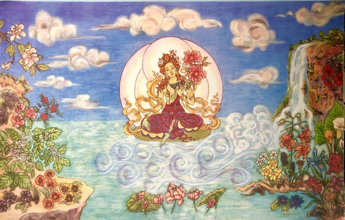 Green Tara, Tara's Pure Land, Khadiravani Tara, Tara