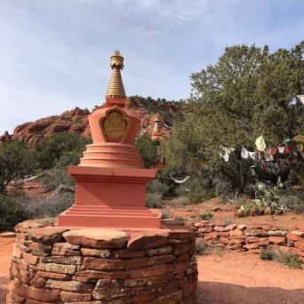 White Tara stupa