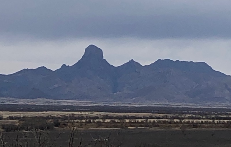 Boboquivari peak at Buenes Aires National Wildlife Refuge