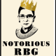 A Woman Using her Voice - The Notorious Ruth Bader Ginsburg