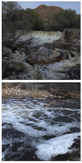Sabino Canyon waters