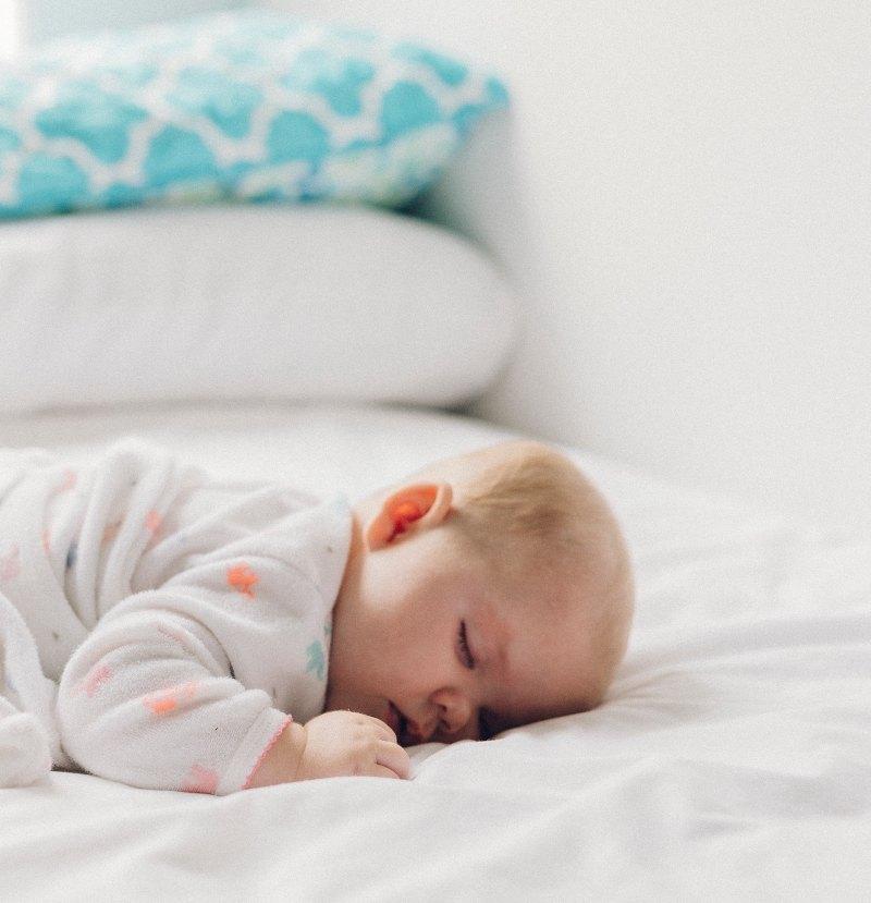 sleep retreat - baby sleeping
