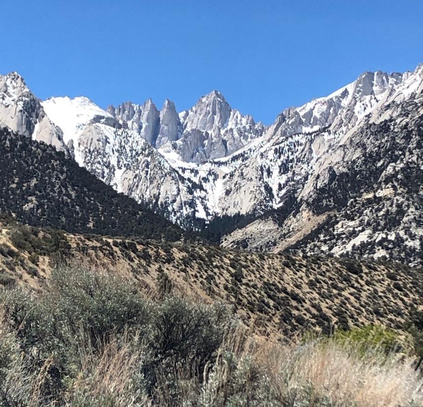Eastern Sierra Nevadas near Mt. Whitney