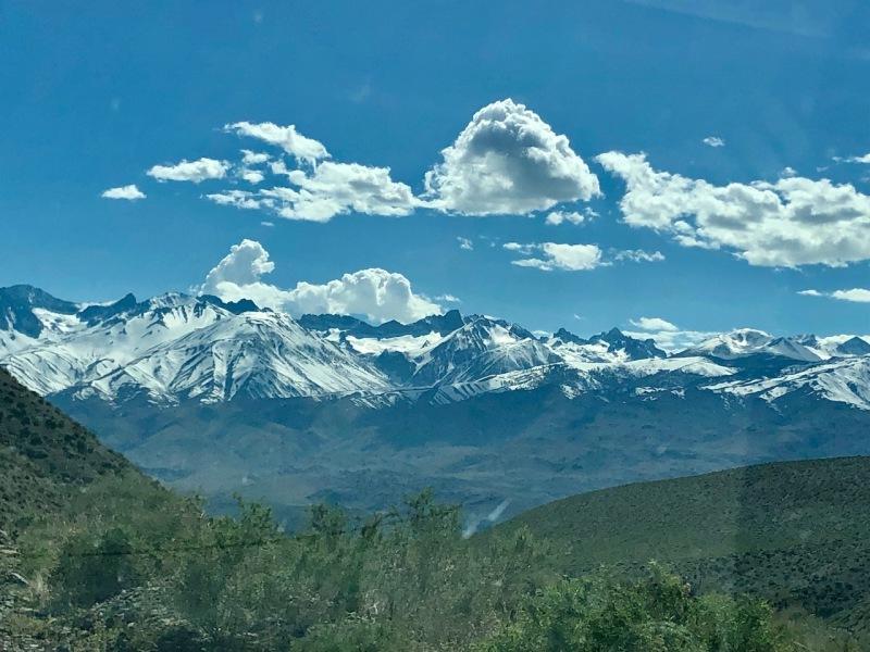High Sierras - Eastern Side