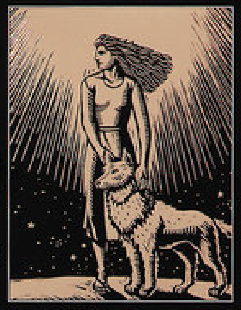 Cover art from Women Who Run with the Wolves
